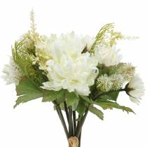 Chrysanthemum buket mix hvid 35cm