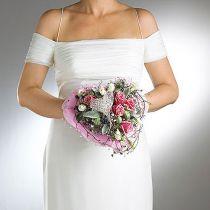 Brudebuketholder med blomsterskum Ø7cm 16cm 6stk