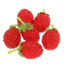 Hindbær 4cm x 2cm 36p