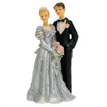 Brudepar til sølvbryllup 14cm