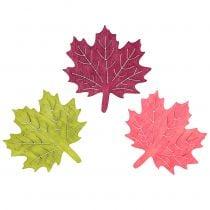Maple leaf træ til spredning assorteret 4cm 72p