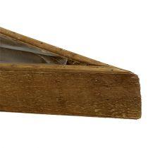 Træskål til beplantning af naturen 79cm x14cm x7.5cm