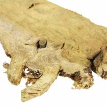 Dekorative træskiver naturlige 1 kg