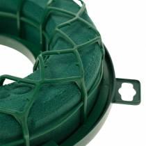 OASIS® IDEAL universalring blomsterskum kransgrøn H4cm Ø18,5cm 5stk