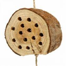 Insekt hotel træ H65cm redningshjælp til at lægge på