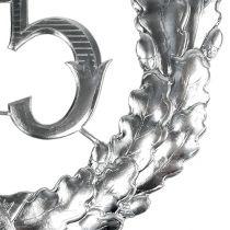 Jubilæum nummer 25 i sølv Ø40cm