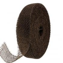 Jutebånd brun 5cm 40m