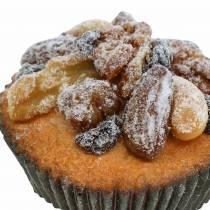 Muffins med kunstige nødder 7 cm 3stk