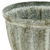 Pokal antikt look grå Ø9cm H12.6cm