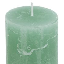 Candle Christmas jade 50mm x 100mm 12stk