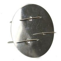 Lysestager sølv Ø6cm 12stk