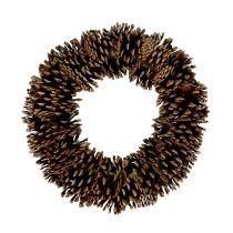 Fyrretræskegler runde flade Ø30cm