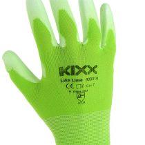 Kixx havehandsker størrelse 7 lysegrøn, lime