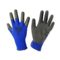 Kixx nylon havearbejdshandsker størrelse 8 blå, sort