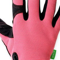 Kixx syntetiske handsker str. 7 lyserød, sort