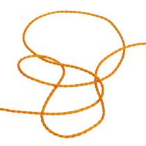 Orange ledning 2mm 50m