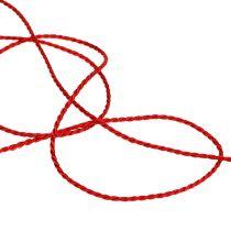 Rød ledning 2mm 50m