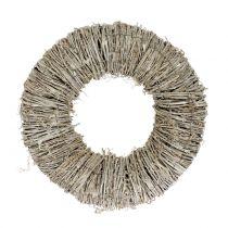 Clematis krans hvidvasket Ø30cm