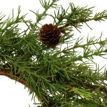 Krans, bordkrans lerkegrøn Ø50cm