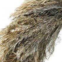 Dekorativ krans tørt græs og korn Ø55cm tør krans