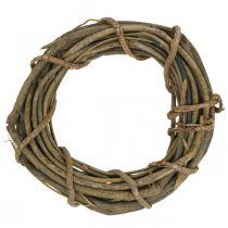 Dekorativ krans lavet af grene natur Ø35cm