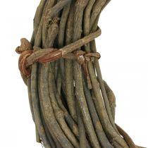 Dekorativ krans lavet af grene naturlig Ø40cm naturlig krans