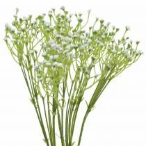Gypsophila gypsophila kunstig i bundten hvid 46 cm 5stk