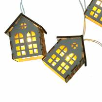 LED strengelys huser batteridrevet