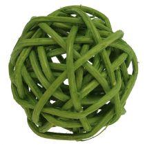 Lataball 3cm bleget grøn 72stk