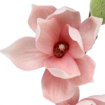 Magnolia kunstlys lyserosa 70 cm