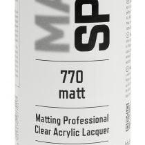 Matt spray professionel akrylmaling 400 ml
