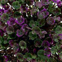 Mini kuglilla med blomster Ø12cm 1p