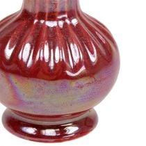 Mini vase Ø5cm H10cm perlemorød 6 stk