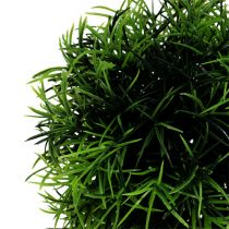 Mini græsbold Ø12cm mørkegrøn 1p