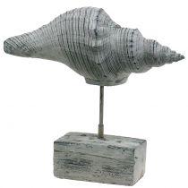 Havefigurskal på stativet H30cm