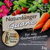 Compo Bio naturlig gødning med guano 3 kg