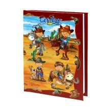 Notebook til drenge Cowboy A6 1p