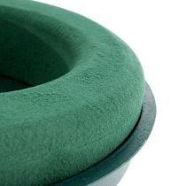 Plug-in sammensat ring plug-in skum med skalgrøn Ø30cm H4,5cm 2stk
