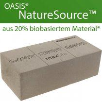 OASIS® NatureSource murstensblomsterskum 23cm × 11cm × 7cm 10stk