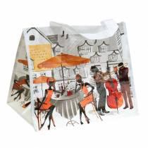 Indkøbspose med håndtag Bella Vita plast 32 × 21 × 26 cm