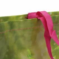 Indkøbspose med håndtag Lykke plastik 38 × 10 × 40 cm