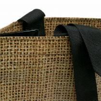 Indkøbspose med håndtag Naturplast 40 × 20 × 40 cm