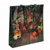 Indkøbspose med håndtag Grøntsagsplast 38 × 10 × 39 cm