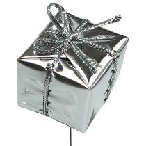 Pakke på wiren sølv 2,5 cm 60stk