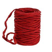 Papirledning 6mm 23m rød