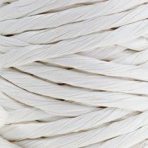 Papirledning 6mm 23m hvid