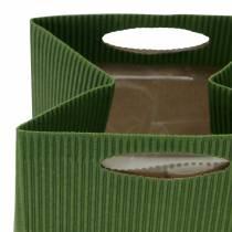 Papirpose urtepottemaskine grøn blanding 10,5 cm 12stk