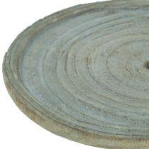 Dekorativ plade Paulownia træ Ø22cm