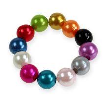 Dekorative perler Ø10mm 115stk