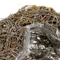 Plantehjerte lavet af vinstokke og lav naturlige 25 cm x 19 cm